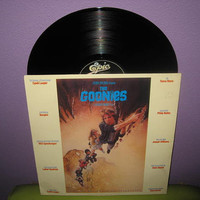 Rare Vinyl Record The Goonies Original Soundtrack LP 1985 Cyndi Lauper Classic