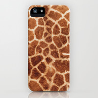 Giraffe skin - for iphone iPhone & iPod Case by Simone Morana Cyla