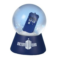 Doctor Who Kurt Adler Battery-Operated 120mm Lighted Water Globe, Doctor Who Tardis