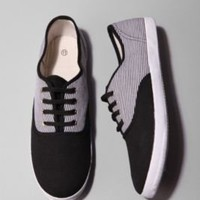 UrbanOutfitters.com > Striped Plimsoll Sneaker