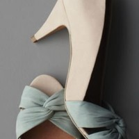 Torsade Peep-Toes in the SHOP Shoes at BHLDN