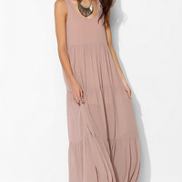 Staring At Stars Crinkle Chiffon Tiered Maxi Dress - Urban Outfitters