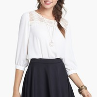 Frenchi® Skater Skirt (Juniors) | Nordstrom