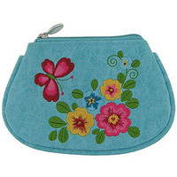 LAVISHY garden vegan coin purse