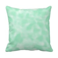 Mint Green and White Mottled