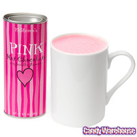 Pink Hot Chocolate Powder: 4.5-Ounce Tin | CandyWarehouse.com Online Candy Store