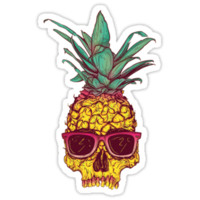 Fashion Skull Pineapple