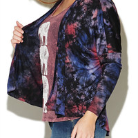 Tie Dye Wrap | Wet Seal