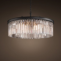 Rhys Glass Prism Chandelier