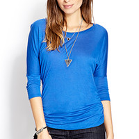 No-Fuss Dolman Top