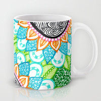 Sharpie Doodle 4 Mug by Kayla Gordon