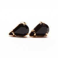 Onyx Wednesday Earrings