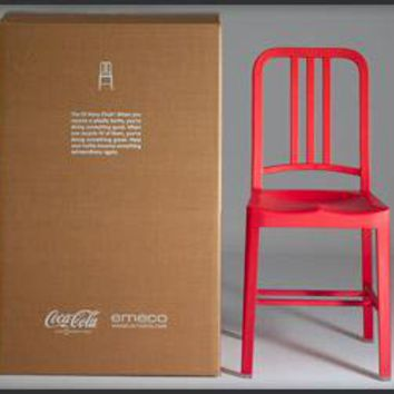 Coca Cola Recycled Bottle Chair - The Awesomer