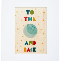 So Much to Gibbous Print | Mod Retro Vintage Wall Decor | ModCloth.com