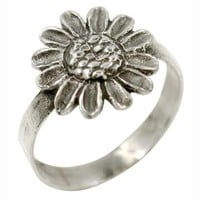 Sunflower - Sterling Silver Ring