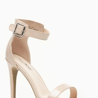 Anne Michelle Single Sole Glossy Nude Strappy Heels @ Cicihot Heel Shoes online store sales:Stiletto Heel Shoes,High Heel Pumps,Womens High Heel Shoes,Prom Shoes,Prom Heels,Prom Pumps,High Heel Sandals