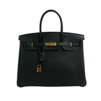 Hermès Black Togo 35 cm Birkin Bag with Gold Hardware