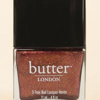 Butter London Brown Sugar Copper Glitter Nail Lacquer