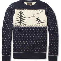 Beams Plus - Ski Intarsia Wool-Blend Sweater | MR PORTER
