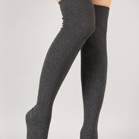 Snuggle Stomp Thigh High Socks