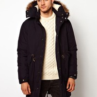 ASOS Fishtail Parka With Down