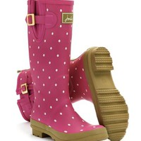 Pinkspot Welly print Womens Rain Boot | Joules US
