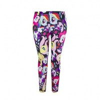 My Little Pony Character Toss Juniors Leggings