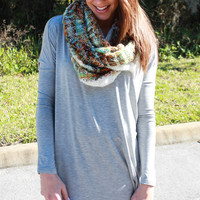Piko Tunic - Heather