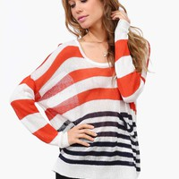 Fall Striped Sweater
