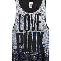 Limited Edition Bling Tank - PINK - Victoria's Secret