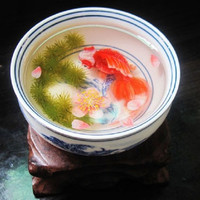 YannyExpress | 3D Goldfish Painting In Resin Water inspired by Riusuke Fukahori 深堀隆介畫法3D金魚