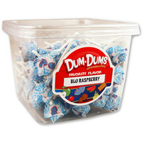Dum Dum Pops - Blue Raspberry: 1LB Tub