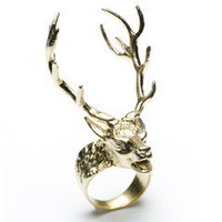 La Dama ? Digby &amp; Iona 14 Point Stag Ring