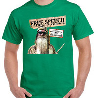 I stand with Phil Robertson - Duck Dynasty tshirt - TeeeShop