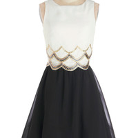 Cause for Applause Dress in Ivory | Mod Retro Vintage Dresses | ModCloth.com