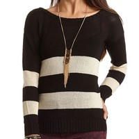 RUGBY STRIPE PULLOVER SWEATER