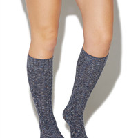 Knit Knee-High Socks | Wet Seal