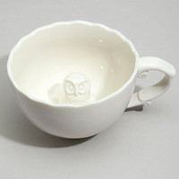 Hidden Owl Tea Cup | Hidden Animal Teacup | fredflare.com