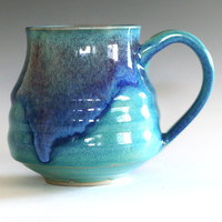 Large Coffee Mug, 22 oz, handmade ceramic cup