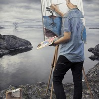 """Self-Actualization"" - Art Print by Erik Johansson"