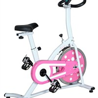 Pink Indoor Cycling Bike
