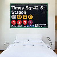 Times Square Station Wall Decal