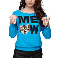 Riot Society Meow Crew Fleece at PacSun.com