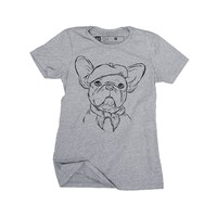Inkopious - Pierre - French Bulldog Women's T-Shirt - Womens