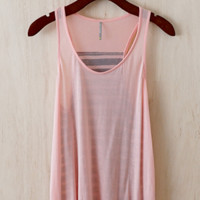 One Swell Summer Tank, Peach
