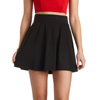 SOLID SKATER SKIRT