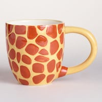 Kids' Ceramic Giraffe Surprise Mug