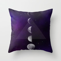 Moon Down Throw Pillow by DuckyB (Brandi)