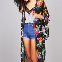 Tropic Blush Cardigan - Chiffon Cardigans at Pinkice.com