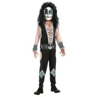 KISS Band - Catman Child Costume Size 8-10 Medium